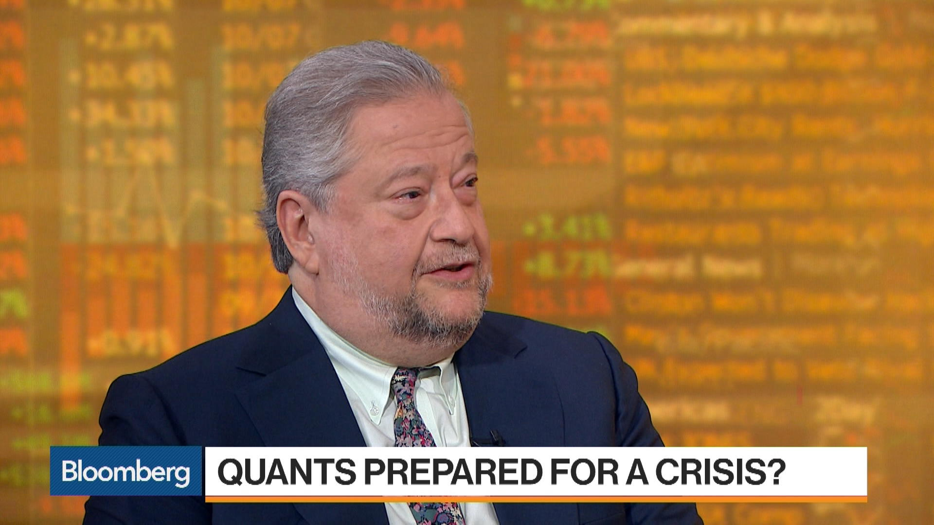 How a Quant Fund Crisis Might Impact Markets