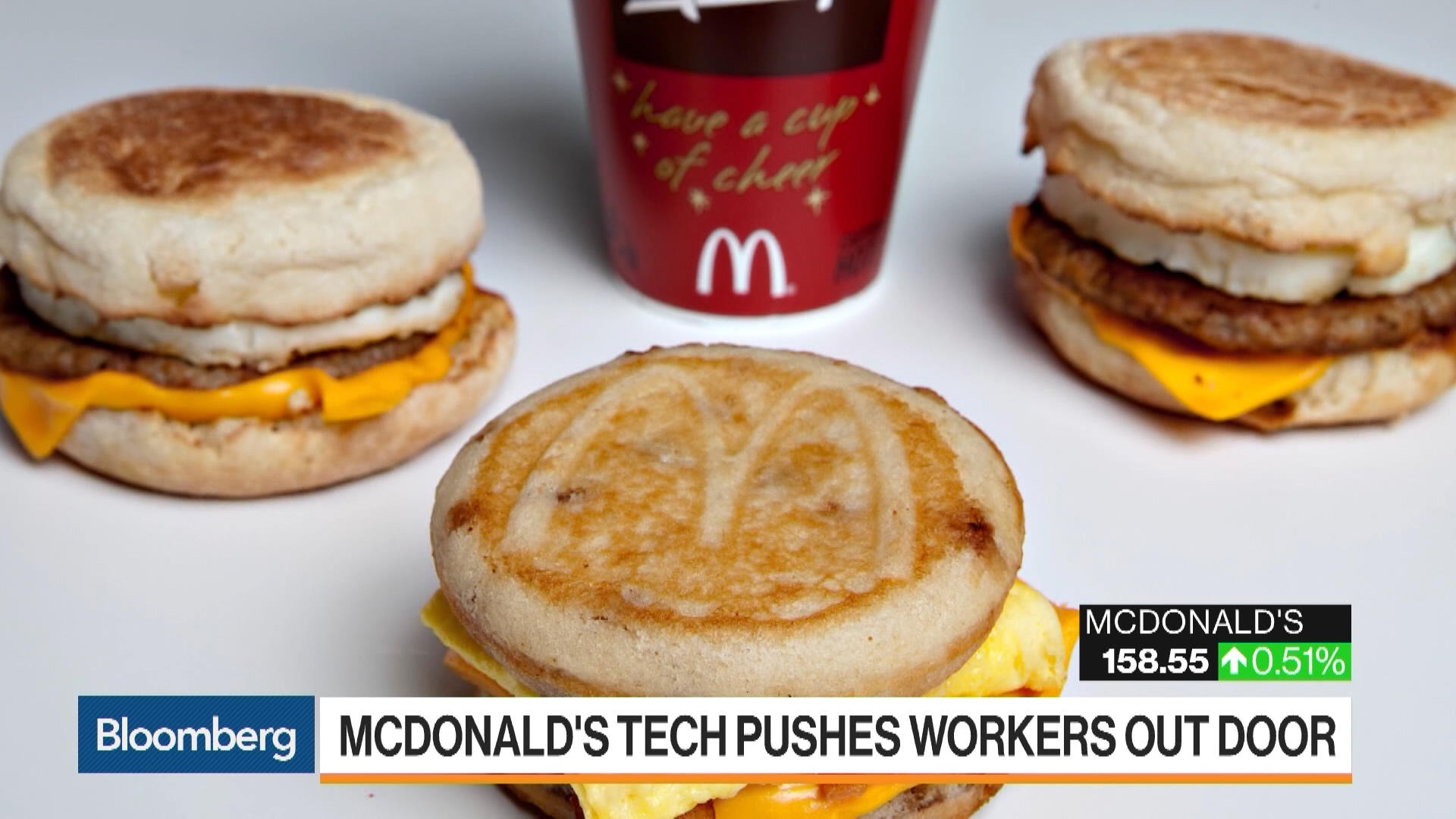 McDonald's High-Tech Makeover Is Stressing Workers Out