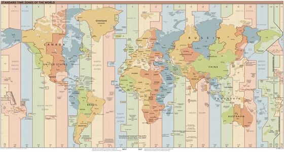Let's Get Rid of Time Zones, Not Just Daylight Savings