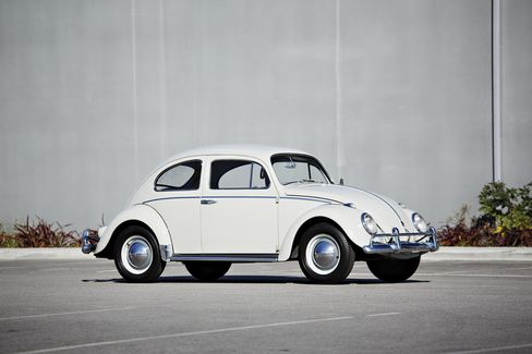 Gooding & Co. Lot 47: the 1960 Volkswagen Beetle. Seinfeld bought the bug in 2008 and has maintained the mileage on it to less than 15,500 miles.