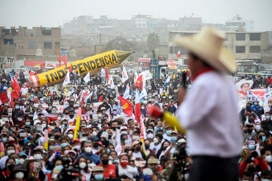 Elites Tremble as Peru Leftist Taps Anger Over Rising Inequality
