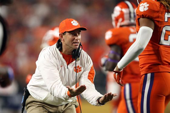Clemson Coach's $93 Million Deal Includes an Extra Alabama Penalty