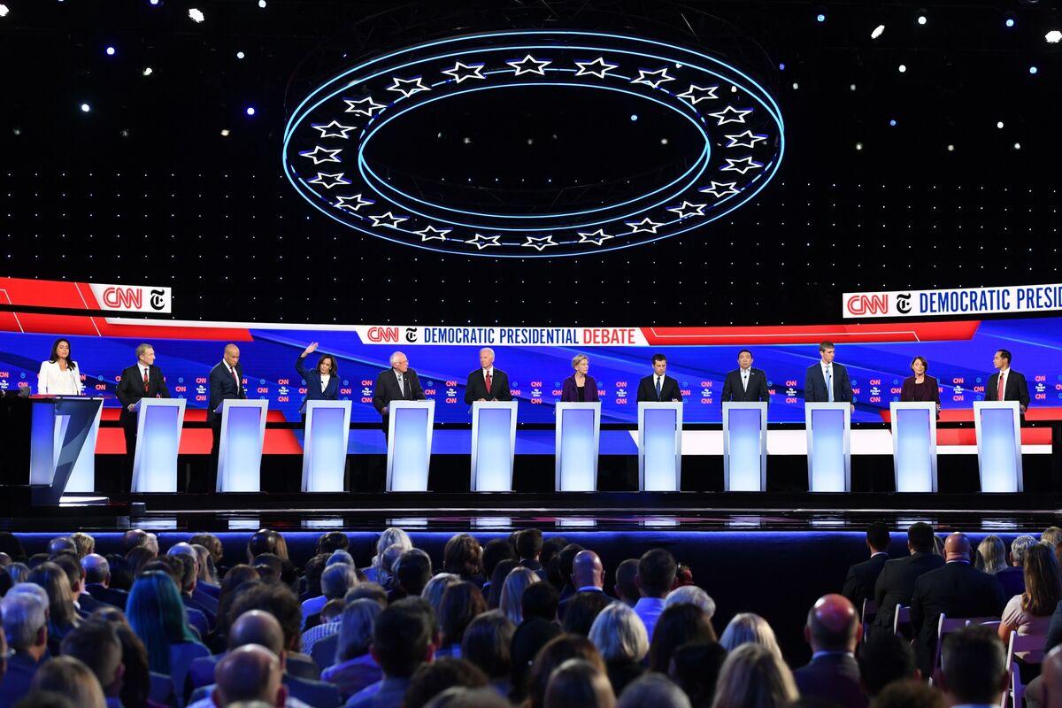 Warren's in Front But Klobuchar Earned Debate Lift