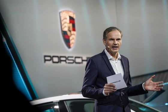 Porsche CEO Says Exploring IPO Could Be 'Interesting' Option