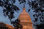 The U.S. Capitol stands at sunrise in Washington, D.C., U.S..