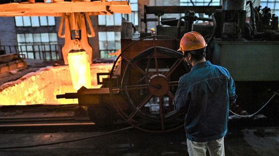 Iron Ore Storms Past $100 as China Soothes Evergrande Concerns
