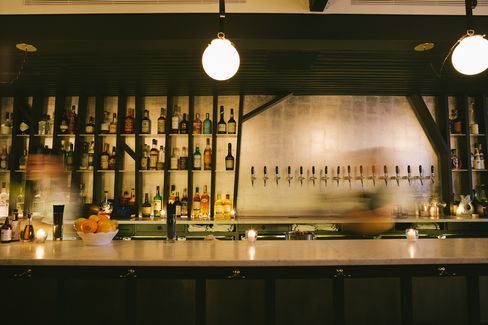 The bar at Wassail offers six by-the-glass pours, 50 plus large-format bottles, and dozen ciders on tap.