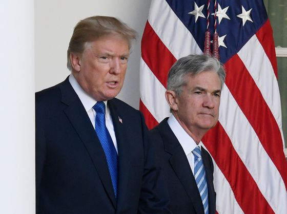 All the Trump Quotes on Powell as Fed Remains in the Firing Line