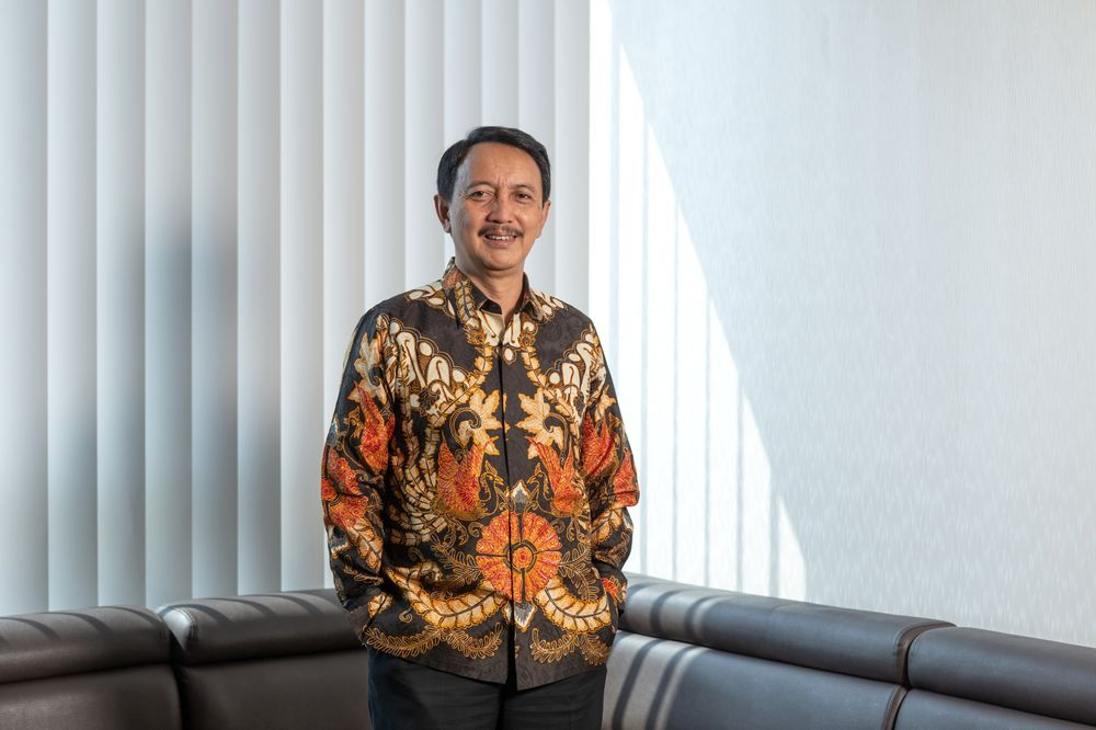 Elfien Goentoro, President Director of Dirgantara Indonesia. Image: Muhammad Fadli/Bloomberg