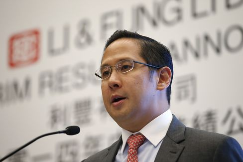 Li & Fung Ltd. CEO Spencer Fung