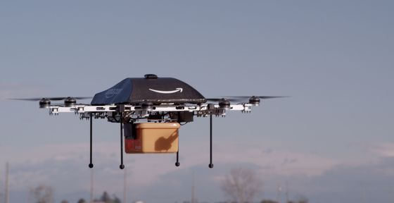Forget Drones. Amazon's Jeff Bezos Needs Lots of Delivery Guys