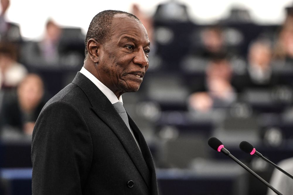 Russian Diplomats Praise Of Guinean Leader Sparks Outrage Bloomberg