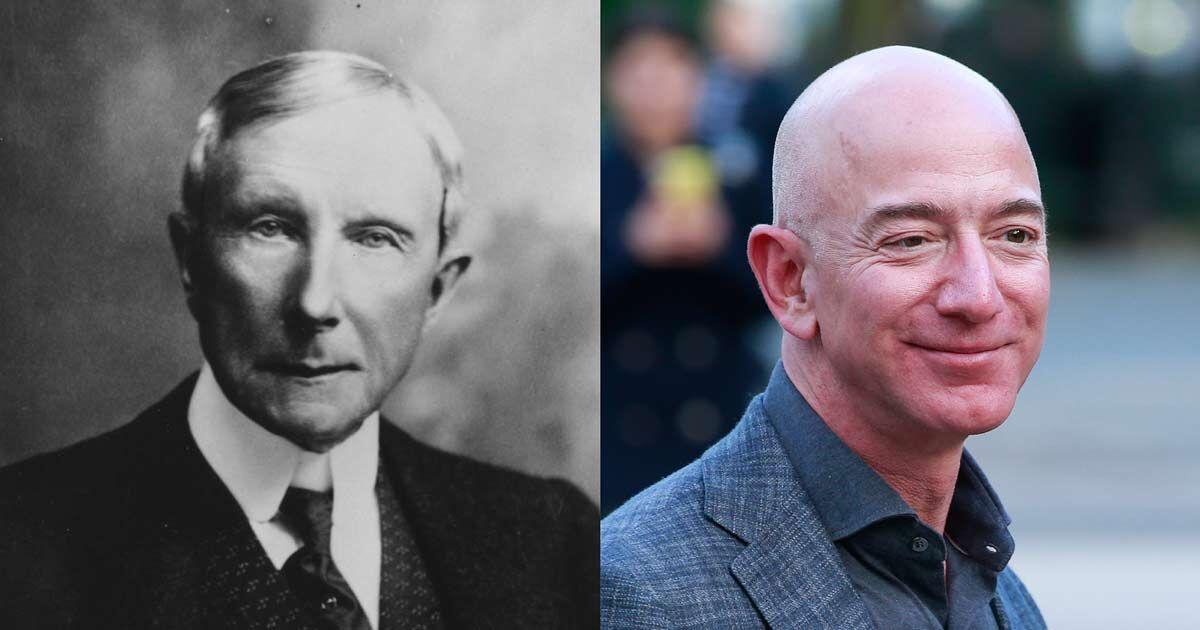 Rockefeller Was Almost Three Times Richer Than Bezos