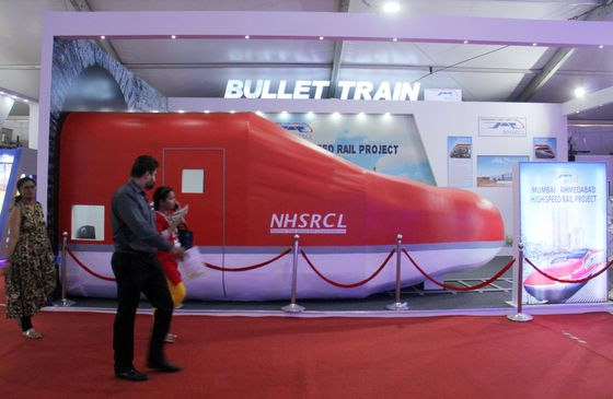 Don't Expect India's Bullet Train to Be On Time