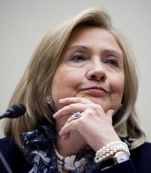 U.S. Secretary of State Hillary Clinton