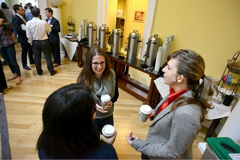 B-School Traditions: First Coffee at Darden