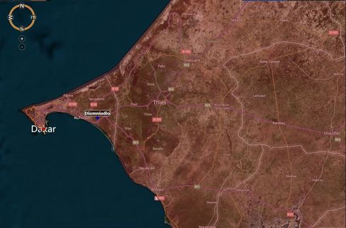 MAP: Diamniadio