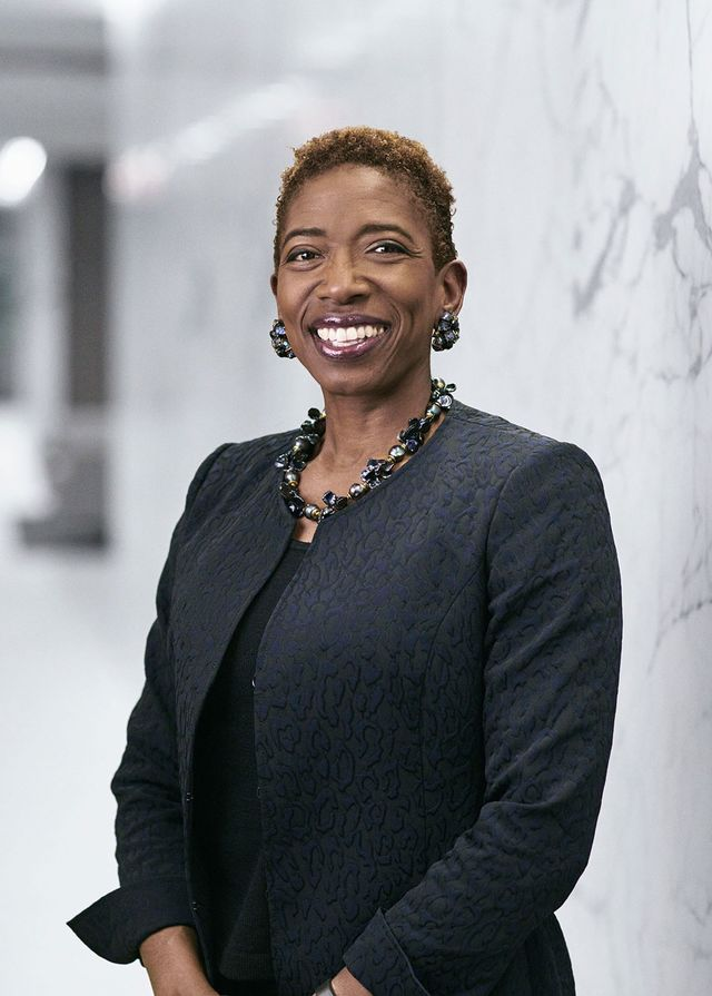 Carla Harris, 57, is vice chairman of global wealth management and a senior client adviser at Morgan Stanley in New York, which she joined in 1987.