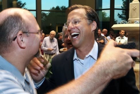 Victorious Tea Party Challenger Dave Brat