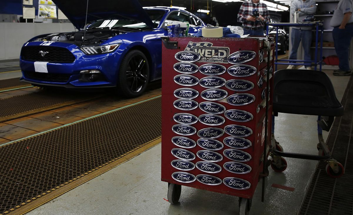 Ford Is Said to Shift Plans Again for Underused Mustang Plant