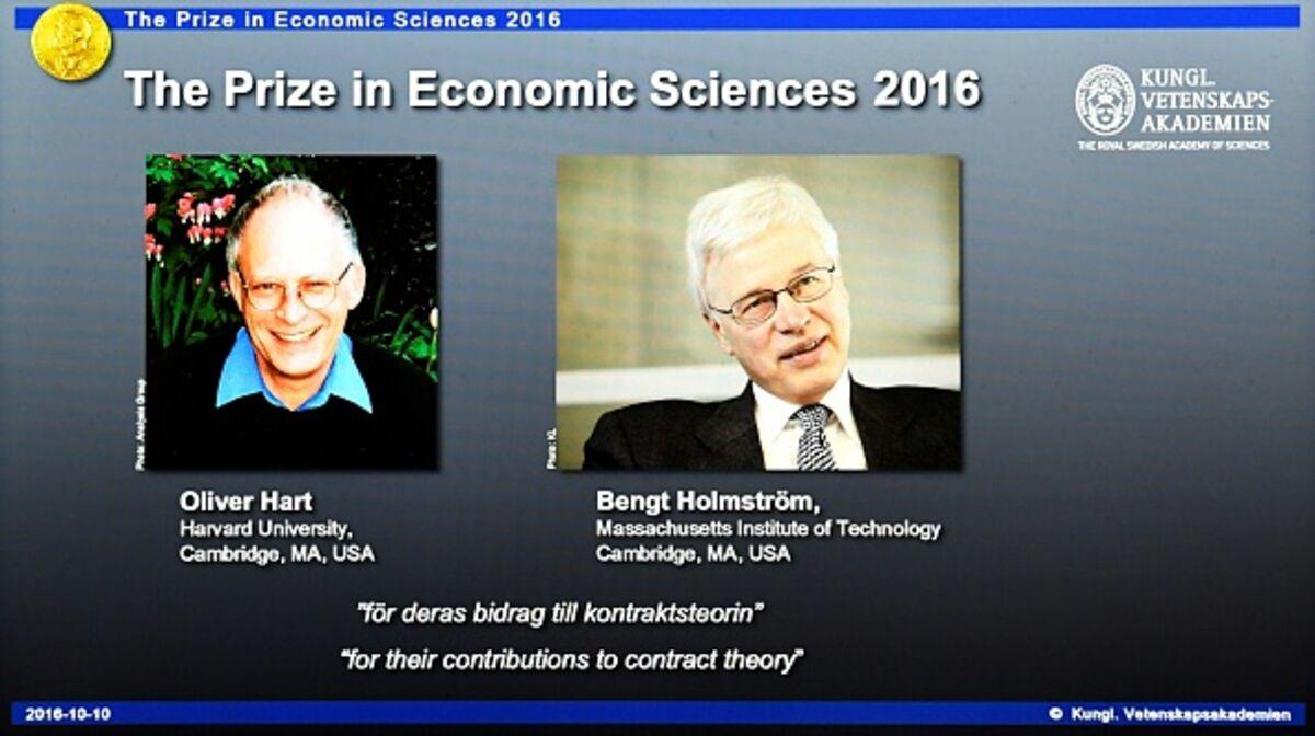 Το Νόμπελ Οικονομίας τιμά φέτος δύο θεωρητικούς και τις θεωρίες τους