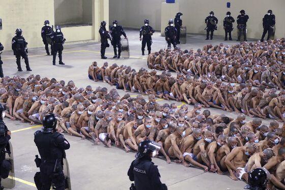 Stripped Prisoners on Floor Latest Tool of Salvadoran President