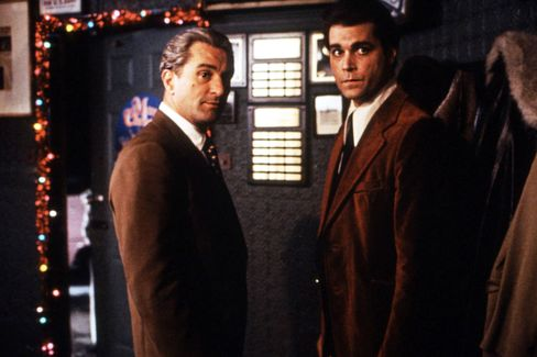 Robert De Niro and Ray Liotta star in 'Goodfellas'.