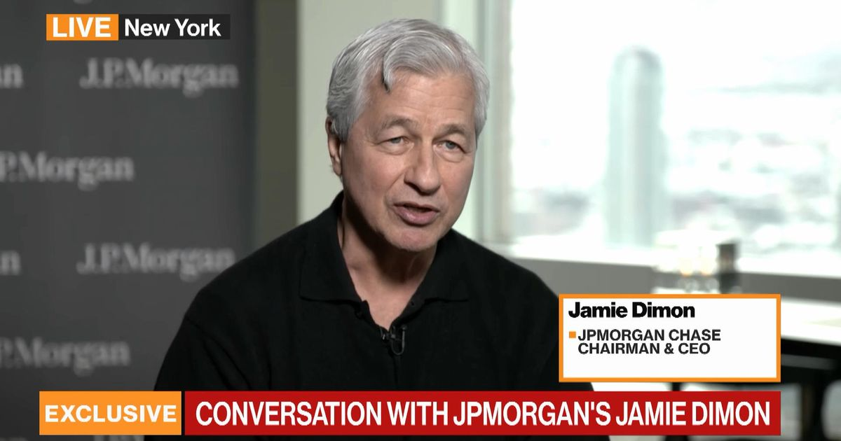 bloomberg.com - JPMorgan's Dimon on Markets, Economy, Returning to Office