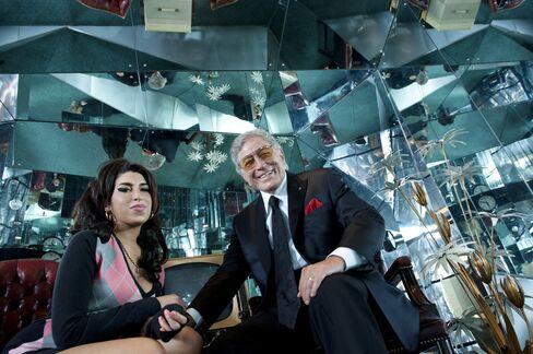 Amy Winehouse and Tony Bennett