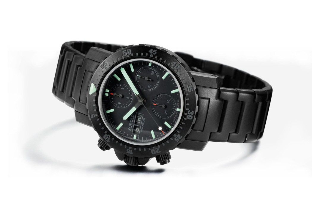 Kobold Phantom Black Ops Chronograph