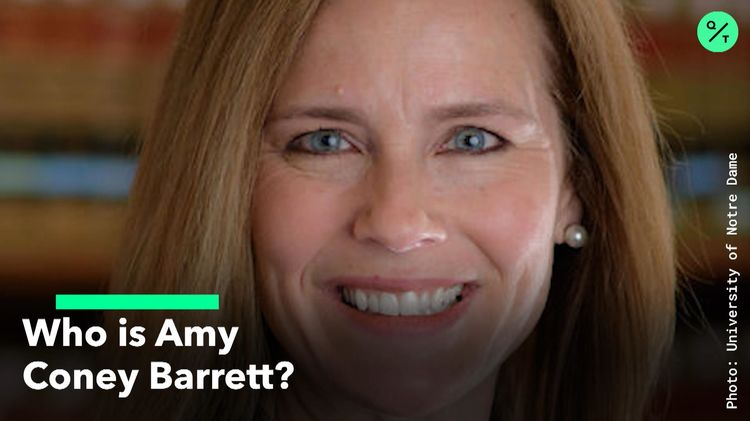 relates to Who is Amy Coney Barrett?