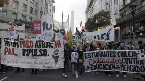 Protests Push Pinera to End 30 Years Chile Fiscal Austerity