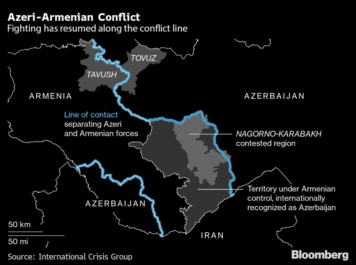 Why Stakes Are Raised in the Azeri-Armenian Conflict