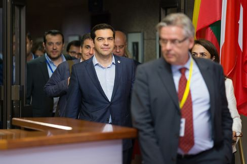 Euro-Area Leaders Reach Greek Bailout Deal Following Overnight Negotiations