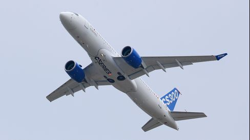 CSeries Air Show Debut