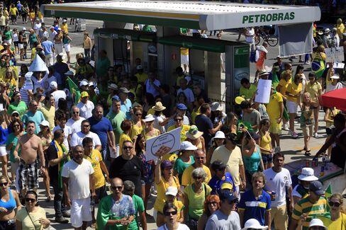 Tens of Thousands March Against President Across Brazil