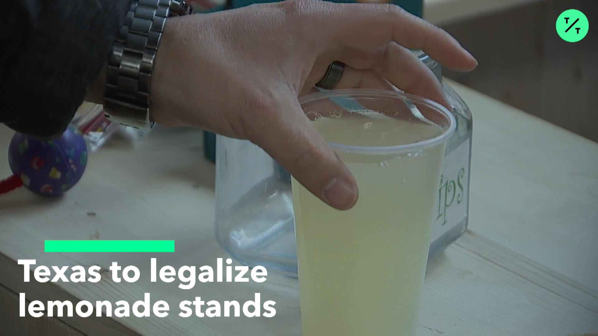 Texas to Legalize Lemonade Stands