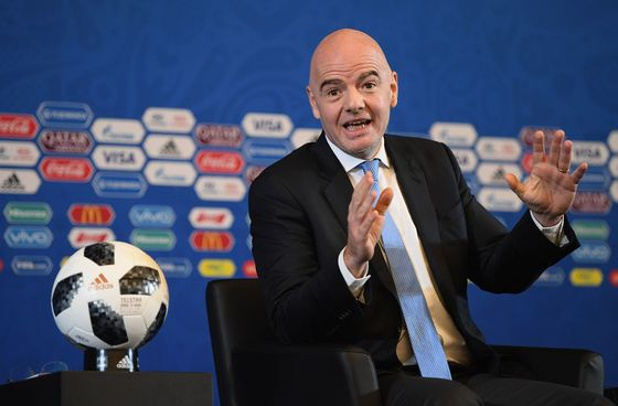 FIFA Said to Expand $25 Billion Soccer Vision to More Clubs