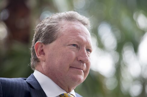 Billionaire Miner Andrew Forrest