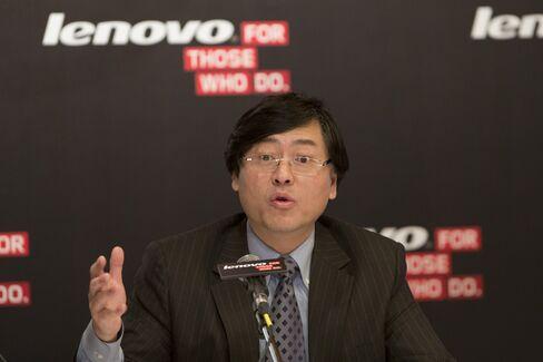 Lenovo Group Ltd. Chairman and CEO Yang Yuanqing