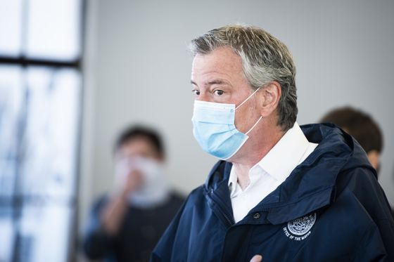 De Blasio Says NYC Virus Progress Is Not Enough to Reopen