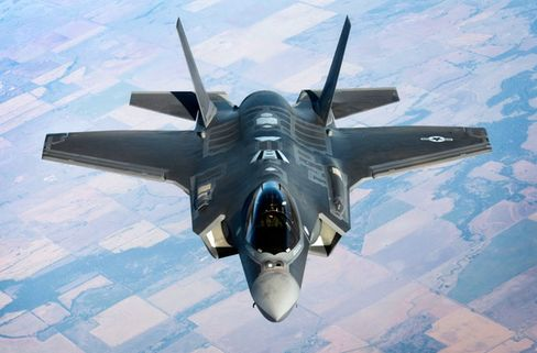 Lockheed Martin's F-35 fighter jet
