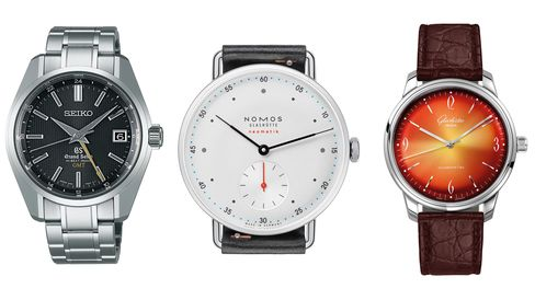 Not all good watches come from Switzerland, and Seiko, Nomos, and Glashütte Original are out to prove it.