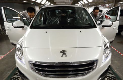 Dongfeng Peugeot-Citroen plant in China