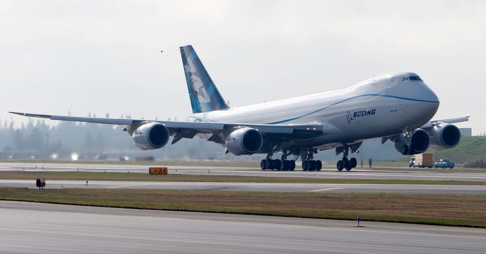 Boeing Makes Billion-Dollar Bet on the 747 Hauling Cargo