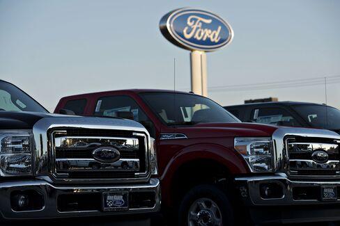 Ford's Profit Tops Estimates