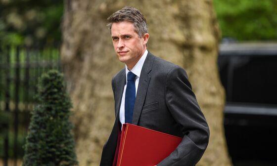 May Fires Defense Secretary Williamson Over Huawei Leak