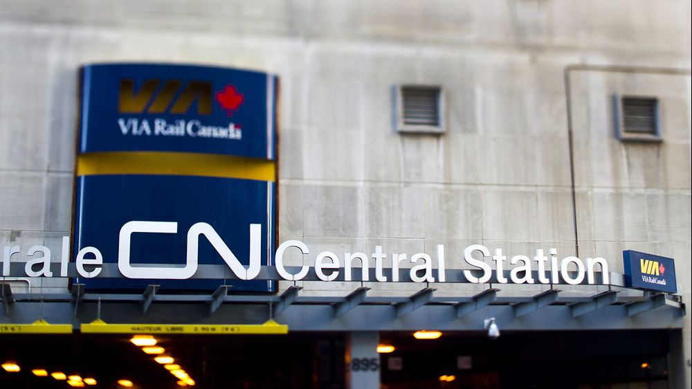Canada Infrastructure Bank to Back Via Rail Corridor, Globe Says