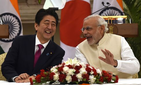 Shinzo Abe And Narendra Modi