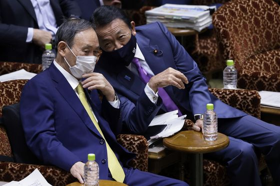 Next-Generation Japan Lawmakers Cheer 'Chaotic' Premier Fight